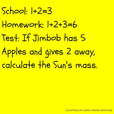 Funny Quotes About Tests In School