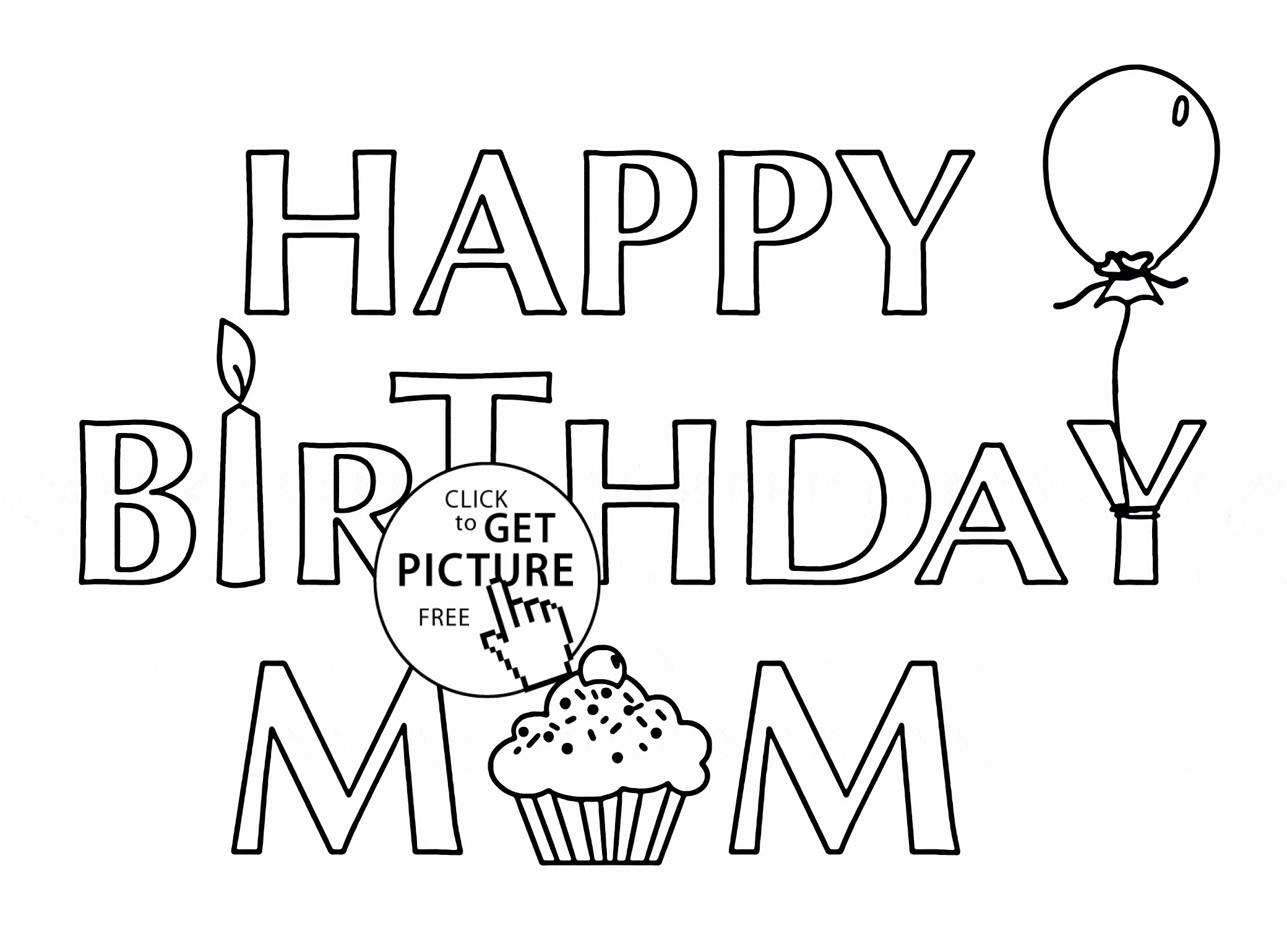 Happy Birthday Sister Coloring Pages at GetDrawings | Free ...