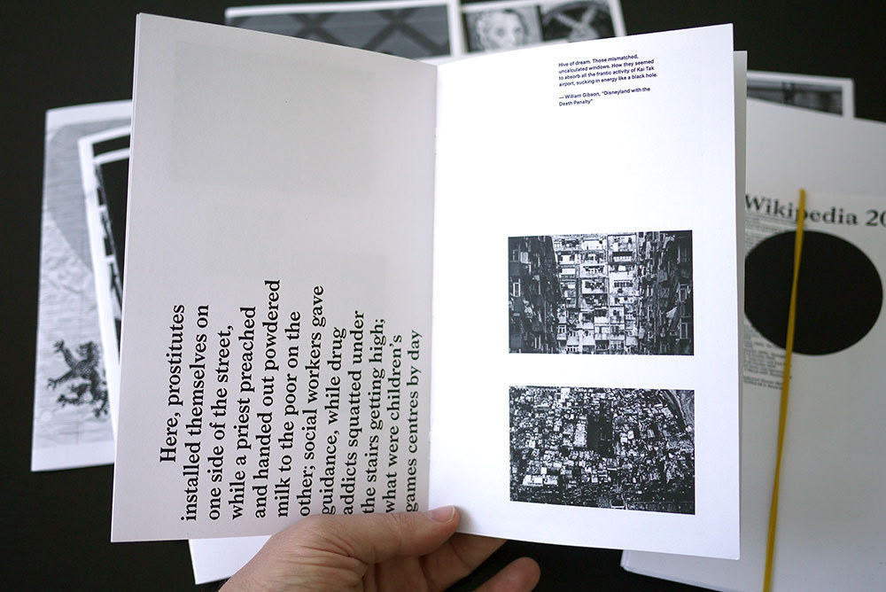 Thorson, Lauren. Wikipedia Random Article Collection.  PoD, 2013. 13 zines.