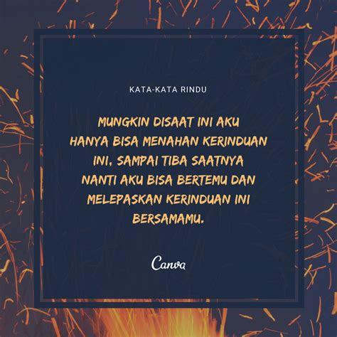 quotes tentang rindu pacar kata kata mutiara