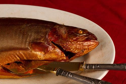 Hot smoked trout / Kuumsuitsuforell