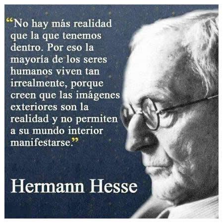 Frase de Hermann Hesse