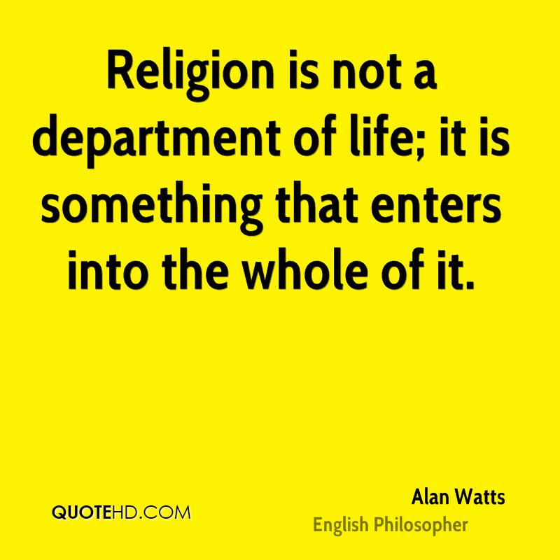 Alan Watts Religion Quotes Quotehd