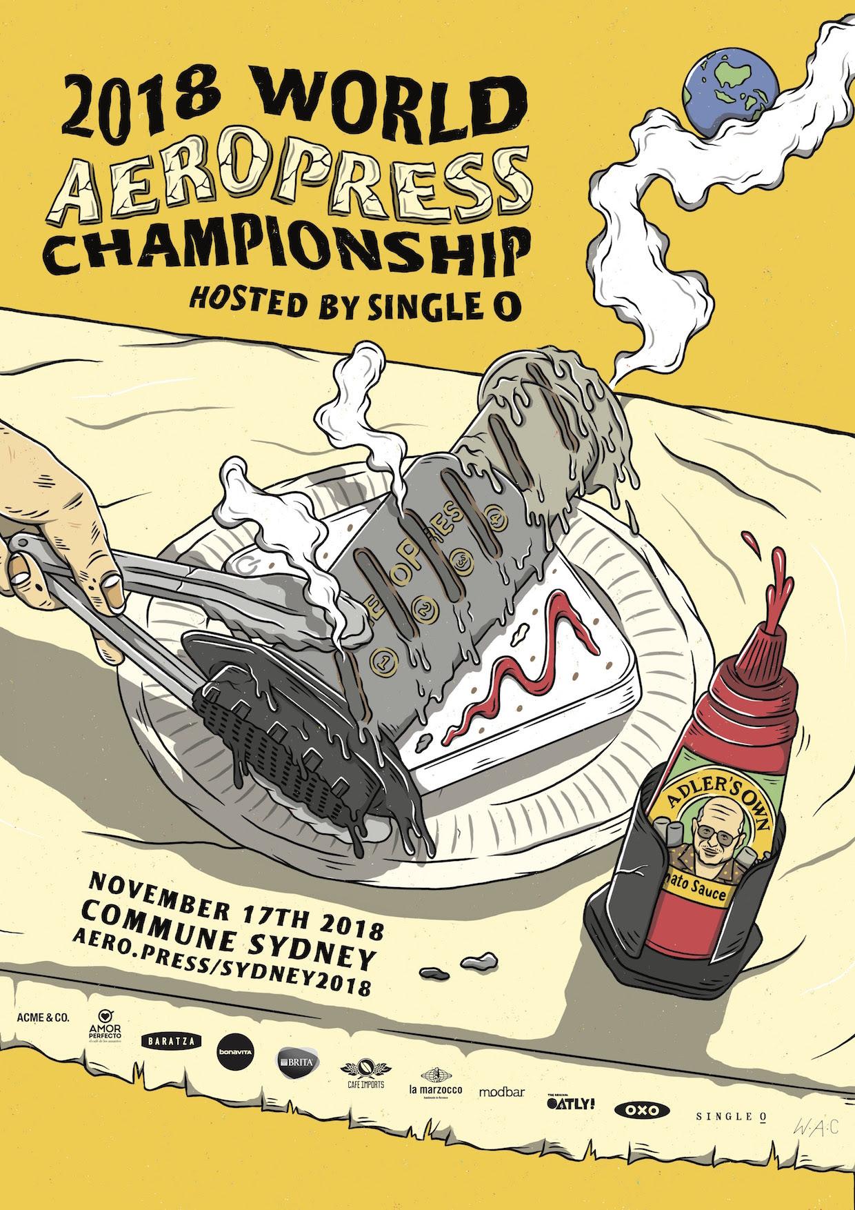 2018 World Aeropress Championship Heading To Sydney Australiadaily Coffee News By Roast Magazine