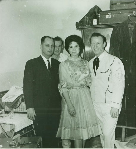 Dad with Kitty Wells and Johnny Wright by CarlaCarlaCarlaCarla