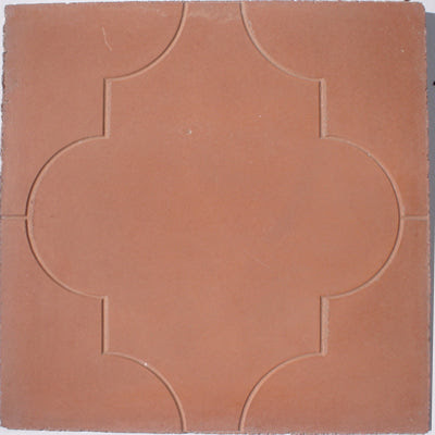 Colonial Pavers are simulated with cement tile