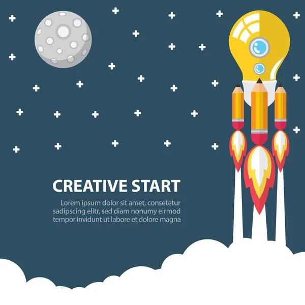 Creativo en marcha — Vector de stock #47888705