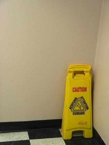 caution corner