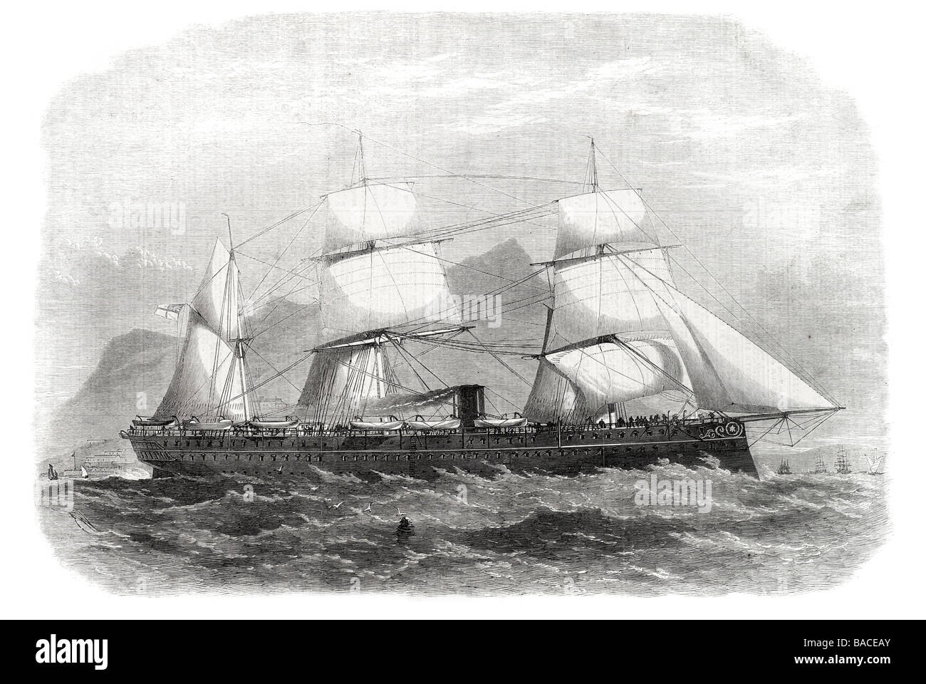 """Image result for TROOP SHIP""""SERAPIS"""" TO INDIA 1867"""