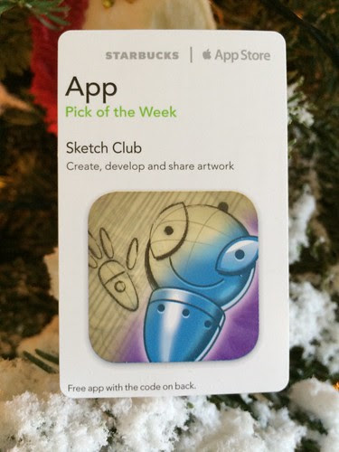 Starbucks iTunes Pick of the Week - Sketch Club