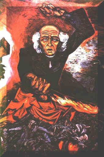 Murales Y Pinturas De Jose Clemente Orozco En El Palacio De Gobierno