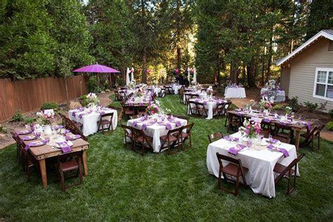 beautiful backyard weddings   backyard wedding photos