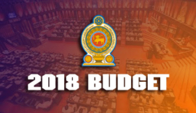 2018 Budget to be presented in Parliament today