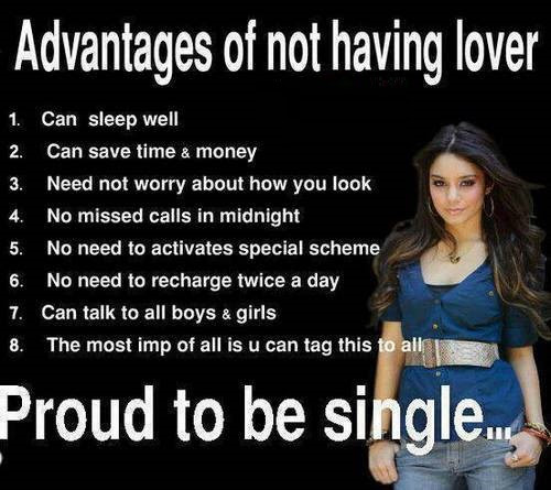 Being Single Life Funny Quotes Archives Facebook Image Share