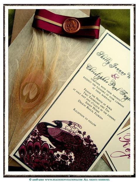 Letha's blog: Romantic Handmade Wedding Invitation Design