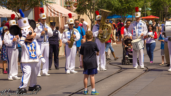 Disneyland Resort, Disneyland, Main Street U.S.A., Mickey, Mouse, Marching, Band