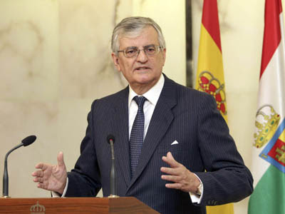 Eduardo Torres-Dulce, fiscal general del Estado, en Logroño.