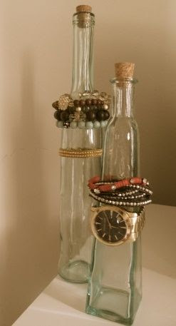 Bottle Jewelry Organizing