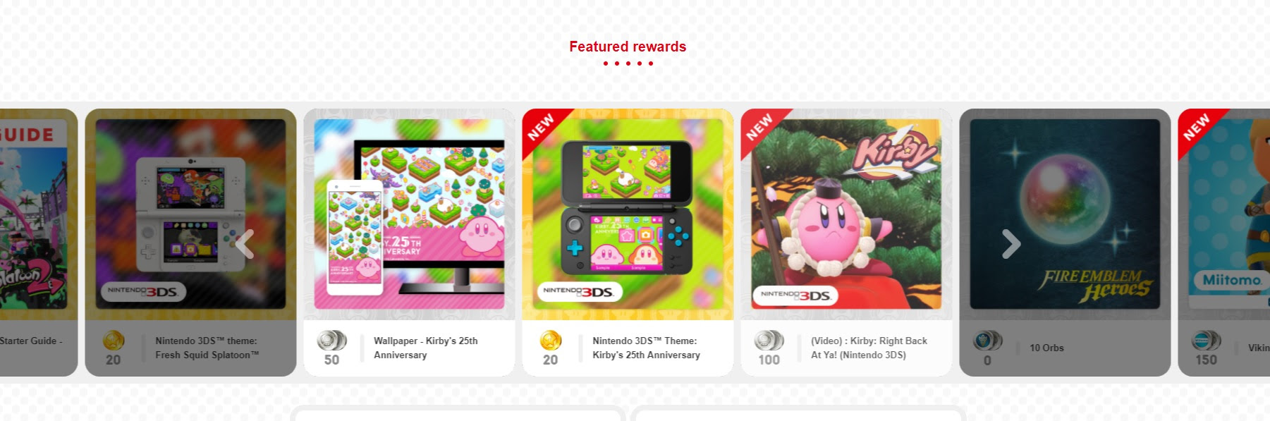 New Star Fox and Kirby rewards pop up on My Nintendo screenshot