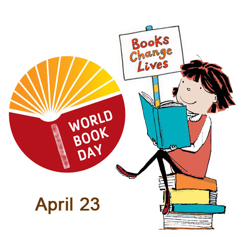 Image result for books day 23rd april