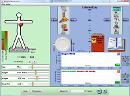 Screenshot of the simulation Διατροφή & Άσκηση