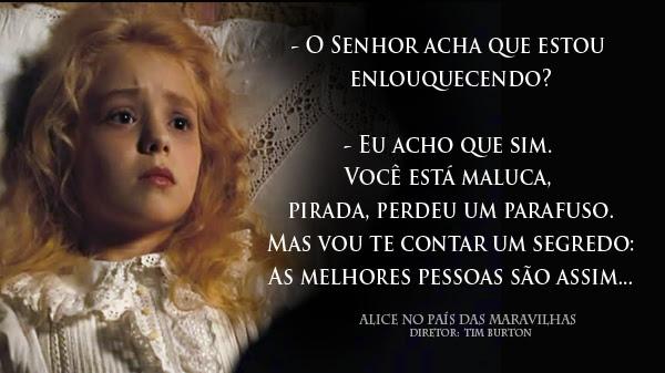 Elegante Frases Alice No Pais Das Maravilhas Livro