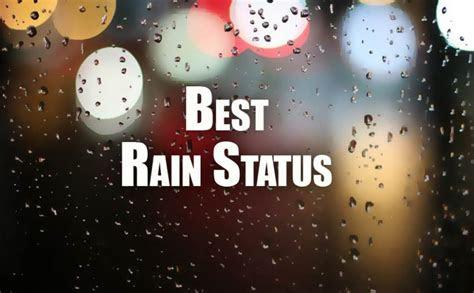 rain status  facebook whatsapp insta