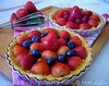 MULTI-BERRY CUSTARD FLAN