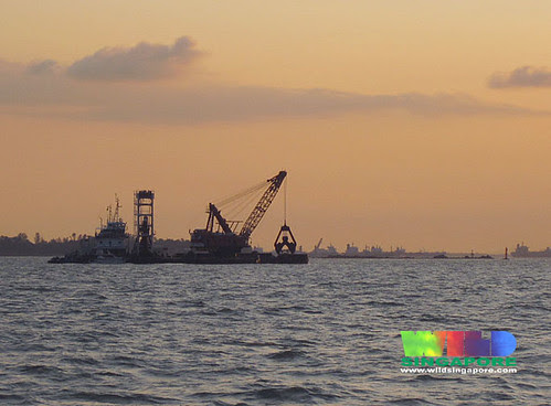Dredging off Sentosa and Seringat-Kias