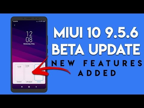 MIUI 10 9.5.6 BETA UPDATE Packed With NEW FEATURES Redmi Note 5 Pro | हि...