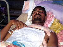 Suren was injured on 25 April