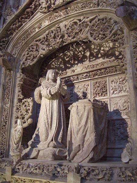 File:Cartuja de Miraflores (Burgos) - Tumba de Alfonso de Castilla.jpg
