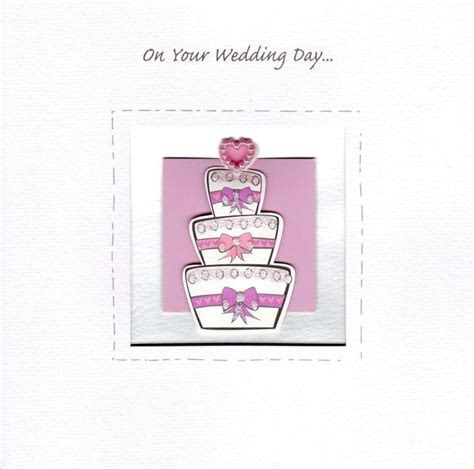 On Your Wedding Day Greeting Card   Cards   Love Kates