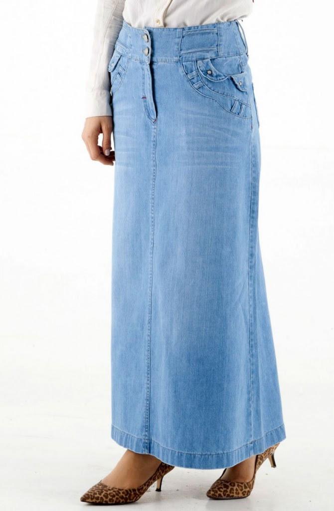 Uzun Dar Kot Etek Modelleri