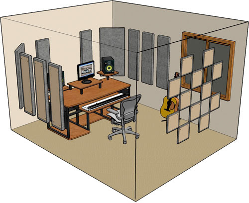 Holiday 2012: How to Set Up a Room for Recording and Mixing | explora