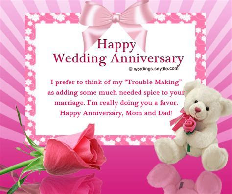 Happy Wedding Anniversary For Mom And Dad With Flowers