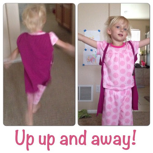 Super Hero Cape with arms ~ a tutorial