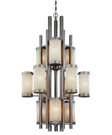Bold and Beautiful: Large Foyer Chandeliers for Summer 2013