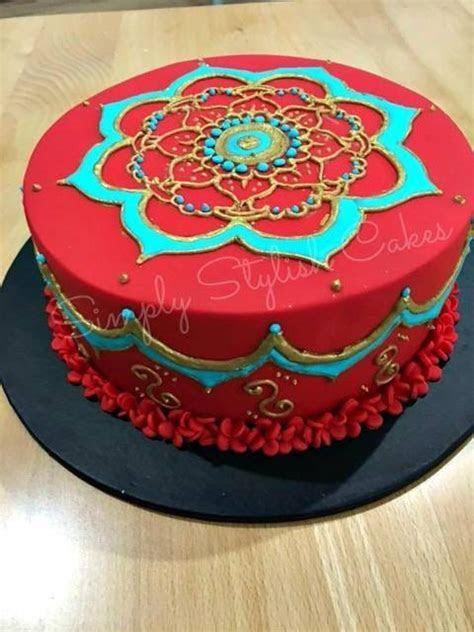 Best 25  Mehndi cake ideas on Pinterest   Henna cake