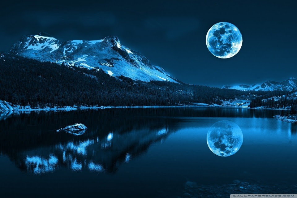 Awesome Iphone Moonlight Wallpaper Hd Wallpaper
