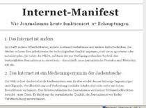 Manifestul Internetului