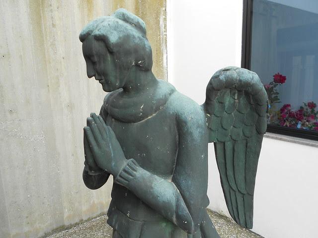 angelo, tomba Bedendo, Virgilio Milani, a Grignano Polesine