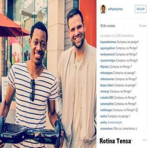 Brasileiros Entopem Instagram De Ator Com Frases Da Série Todo Mundo