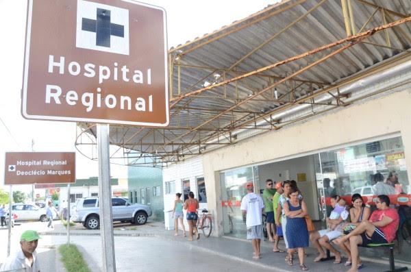 O Hospital Deoclécio Marques, em Parnamirim, estava com déficit de pessoal desde julho