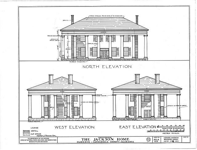 HABS ALA,39-FLO.V,3- (sheet 7 of 18) - Forks of Cypress, Savannah Road (Jackson Road), Florence, Lauderdale County, AL