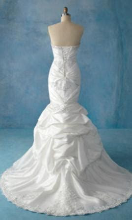 Alfred Angelo 201 Ariel Wedding Dress   New, Size: 6, $495