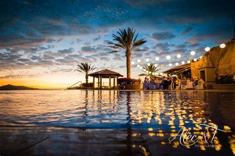Wedding at Pueblo Bonito Sunset Beach  Sky Pool