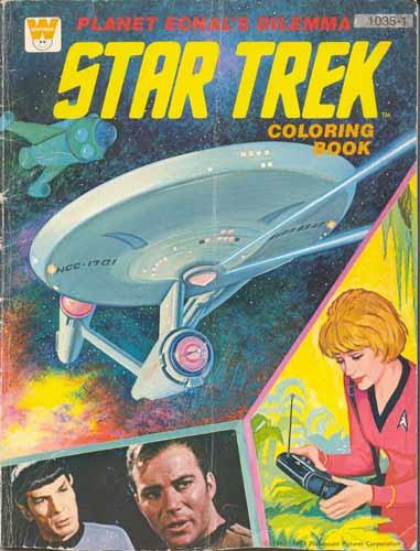 star trek Colouring Book
