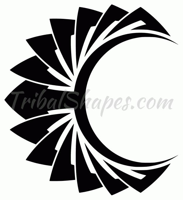 Luna 9 Diseño Tribal