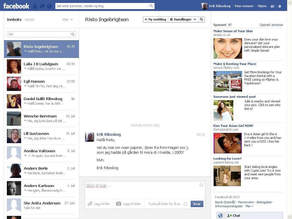 facebook risto